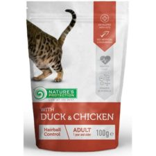 Nature's Protection Cat kaps. Hairball duck&chicken 100g