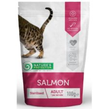 Nature's Protection Cat kaps. Sterilised with Salmon 100g
