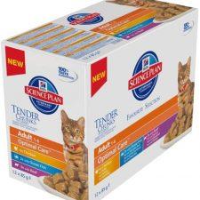 Hill's Science Plan Feline  Adult kapsička Chicken+Beef+Ocean Fish 12x85 g