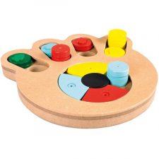 Hračka Dřevo interaktivní Tlapa 23,5x21x2,5cm Duvo+