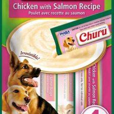 Inaba Churu dog snack kuře a losos 4x14 g