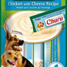 Inaba Churu dog snack kuře a sýr 4x14 g