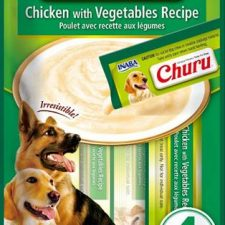 Inaba Churu dog snack kuře a zelenina 4x14 g