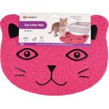 WC předložka Cat's head růžová 30x40 Flamingo