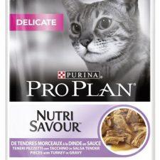 PRO PLAN Cat kaps. Delicate Turkey 85 g