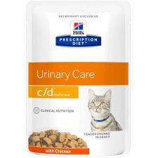 Hill's Prescription Diet Feline C/D kaps. Multicare Chicken 12 x 85 g