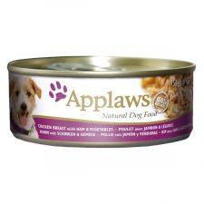 Applaws Dog konz. kuře, šunka a zelenina 156 g