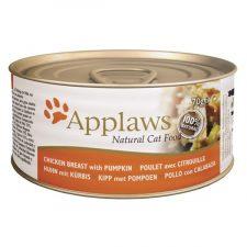 Applaws Cat konz. kuřecí prsa a dýně 156 g