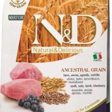 N&D Low Grain Cat Adult Lamb & Blueberry 5 kg