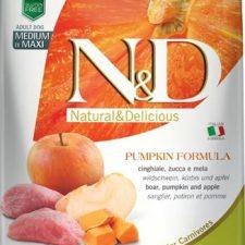 N&D Grain Free Dog Adult M/L Pumpkin Boar & Apple 2,5 kg