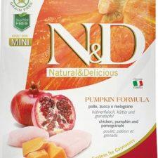 N&D Grain Free Dog Adult Mini Pumpkin Chick & Pomegranate 800 g