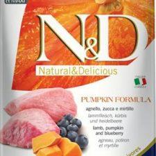 N&D Grain Free Dog Puppy M/L Pumpkin Lamb & Blueberry 12 kg