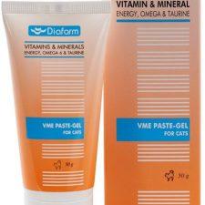 Vitamin&Mineral Energy Paste-Gel pro kočky 50g Omega 6 & Taurin