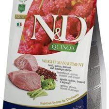 N&D Grain Free Cat Adult Quinoa Weight Managment Lamb & Broccoli 0,3 kg