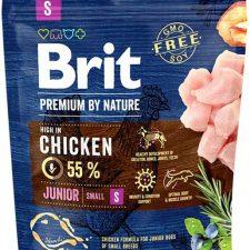 Brit Premium by Nature Dog Junior S 1 kg
