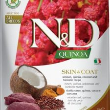 N&D Grain Free Dog Adult Quinoa Skin&Coat Venison & Coconut 2,5 kg