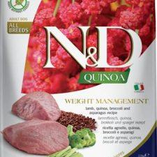 N&D Grain Free Dog Adult Quinoa Weight Managment Lamb & Broccoli 2,5 kg