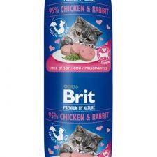 Brit Premium by Nature Cat Sausage Chicken & Rabbit 180 g