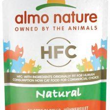 Almo Nature cat kaps. Natural-kuřecí filet 55g