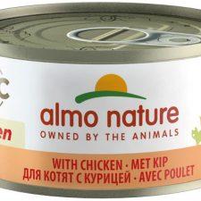 Almo Nature cat konz. Natural Kitten -kuře 70g