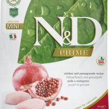 N&D PRIME Dog Grain Free Adult Mini Chicken&Pomegranate 0,8 kg
