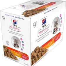 Hill's VetEssentials Feline Adult Chicken Salmon - kapsička (multipack) 12 x 85 g NOVÝ