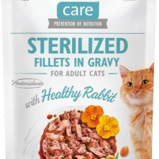 Brit Care Cat kaps. Sterilized. Fillets in Gravy with Healthy Rabbit 85 g