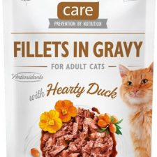 Brit Care Cat kaps. Fillets in Gravy with Hearty Duck 85 g