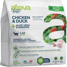 ALLEVA HOLISTIC Cat Dry Adult Chicken&Duck 400g