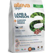 ALLEVA HOLISTIC Cat Dry Adult Lamb&Venison 1,5kg