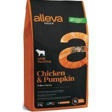 ALLEVA NATURAL Dog Dry Adult Chicken&Pumpkin Maxi 2kg