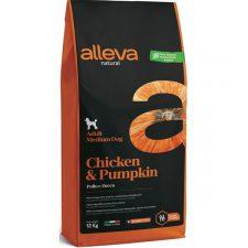 ALLEVA NATURAL Dog Dry Adult Chicken&Pumpkin Medium 12kg