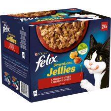 Felix cat kaps.-Sens.Jellies Multipack v želé 24 x 85 g