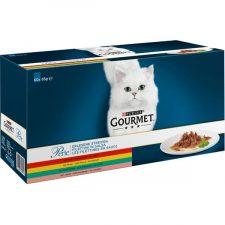 Gourmet Perle cat kaps.- Multip.minifiletky maso 60 x 85 g