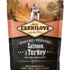 Carnilove Dog Salmon & Turkey for LB Puppies 1