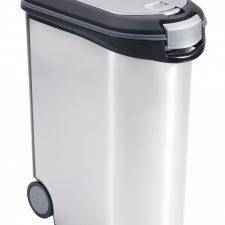 Curver kontejner na krmivo stříbrný 54l