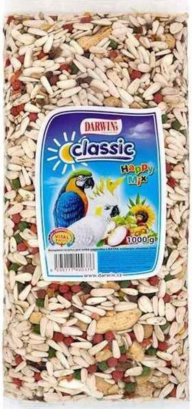 Darwins Happy mix velký papoušek 1 kg