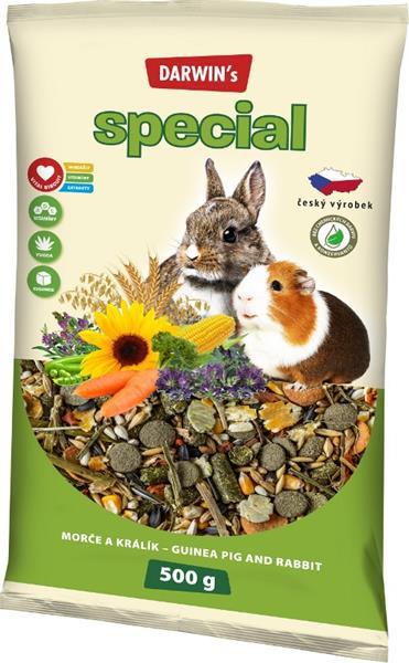 Darwins Speciál morče, králík 500 g