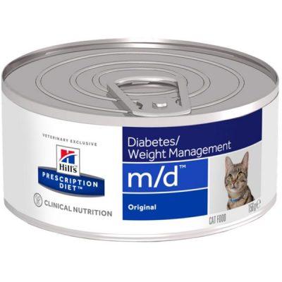 Hill's Prescription Diet Feline M/D konzerva 156 g