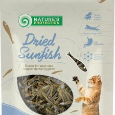 Nature's Protection Cat Snack sušené rybičky 20 g