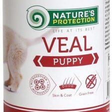 Nature's Protection Dog konz.Puppy telecí 400 g