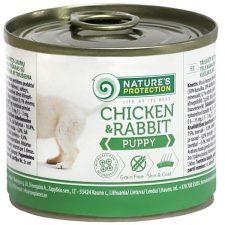 Nature's Protection Dog konz.Puppy kuře/králík 200 g