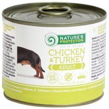 Nature's Protection Dog konz.Adult kuře/krůta 200 g