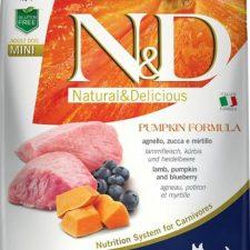 N&D Grain Free Dog Adult Mini Pumpkin Lamb & Blueberry 7 kg
