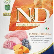N&D Grain Free Dog Puppy Mini Pumpkin Lamb & Blueberry 800 g