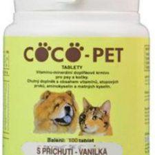 Coco Pet vanilka 100 tbl