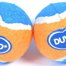 Hračka tenis míčky DUVO+ 2 x 6cm