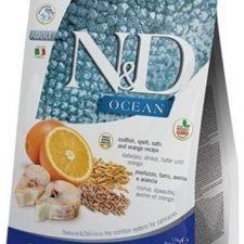 N&D OCEAN Cat Grain Free Adult Herring, Pumpkin & Orange 1,5 kg