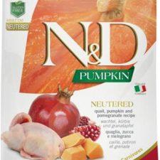 N&D Grain Free Cat Adult Pumpkin Neutered Quail & Pomegranate 1,5 kg
