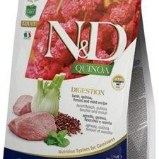 N&D Grain Free Cat Adult Quinoa Digestion Lamb & Fennel 0,3 kg
